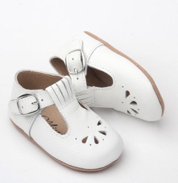 Dråpe baby - hvit