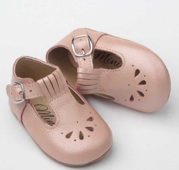 Dråpe baby - støvet rosa