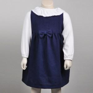 Kjole marineblå