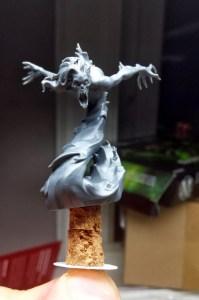 Malifaux Poltergeist model