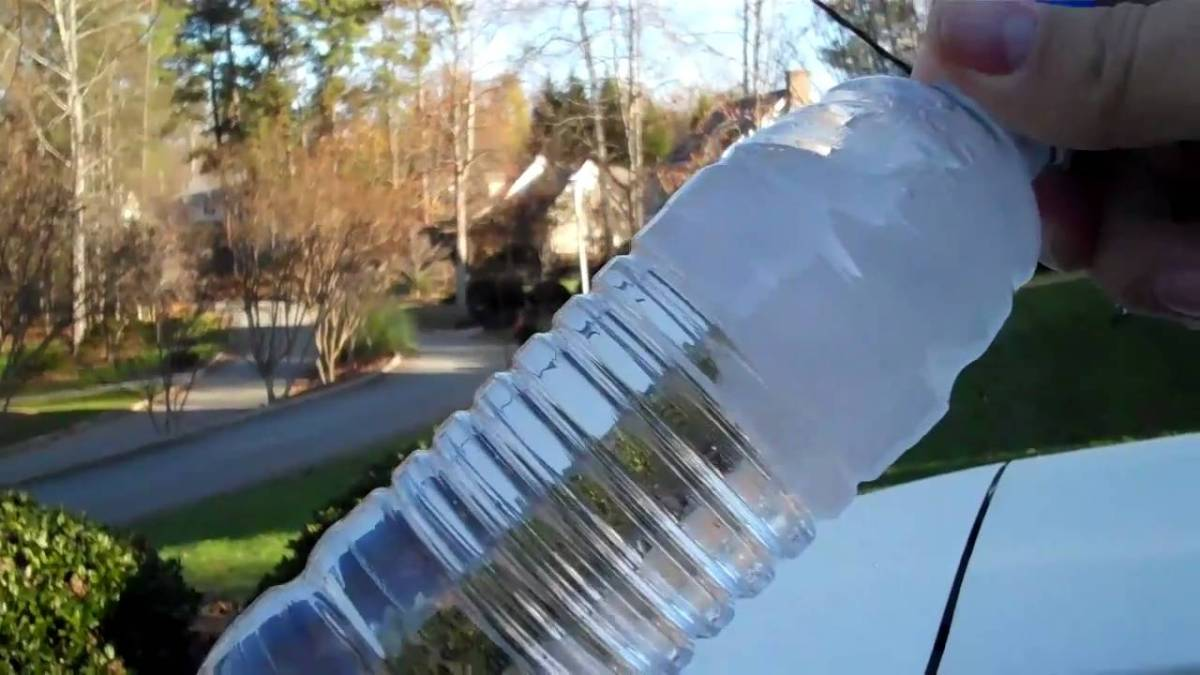 how to make supercooled water