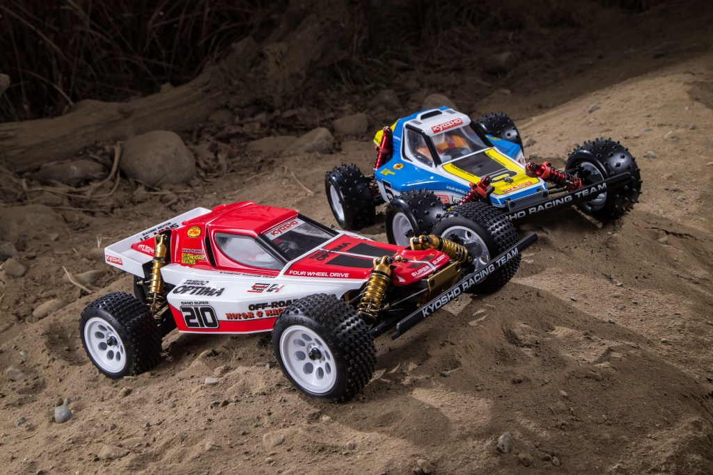 Buggy Race | RC Optima racer 4wd