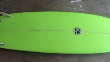 For Sale: 6'2 Mitsven Mini Simmons ($450)