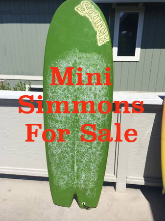 Ten Mini Simmons For Sale 10-14-2014