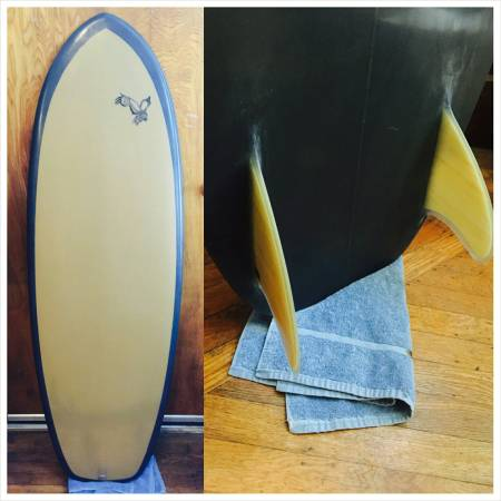 "For Sale: 5'6"" Hand-shaped Custom Mini Simmons"