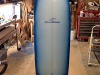 Show & Tell Mini Simmons Surfboard - Aaron Cleveland