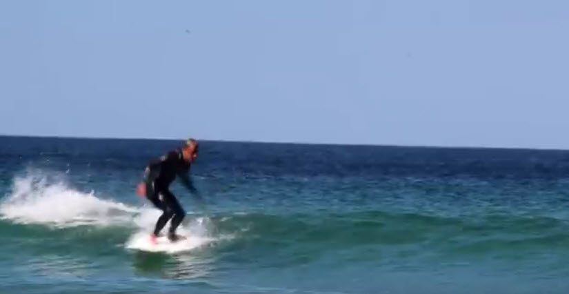 Testing '5'9 Ectic concepts, Mini Simmons By Dale Walker at Sennen