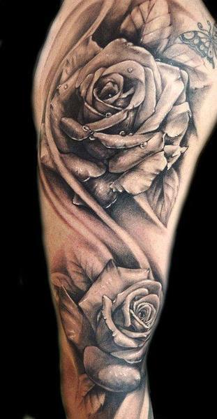 100 Tatuajes De Rosas Y Sus Significados
