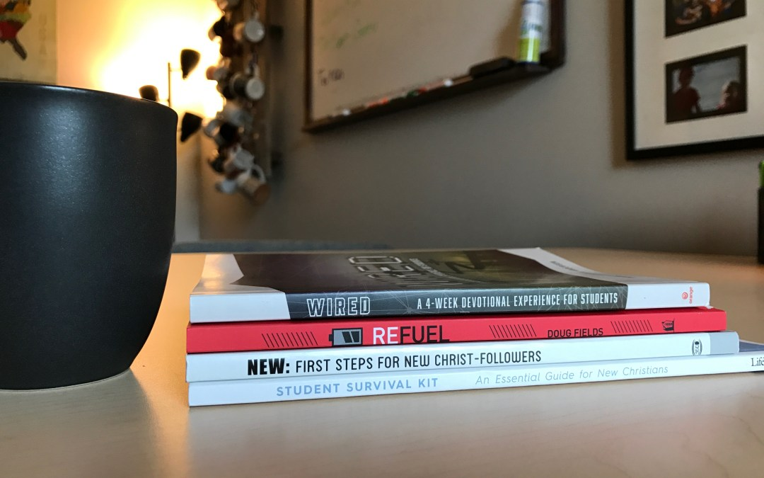 4 Books That Are Perfect For New Christians In Your Student Ministry