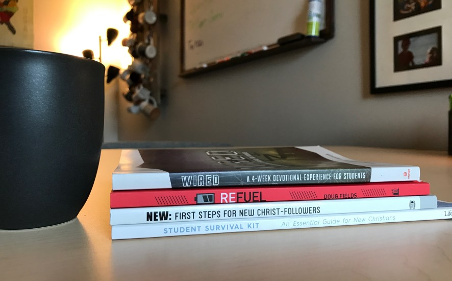 4 Books That Are Perfect For New Christians In Your Student Ministry | Ministry Bubble