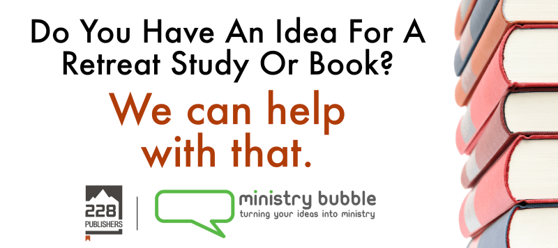 Ministry Bubble 228 Publishers Post Ad