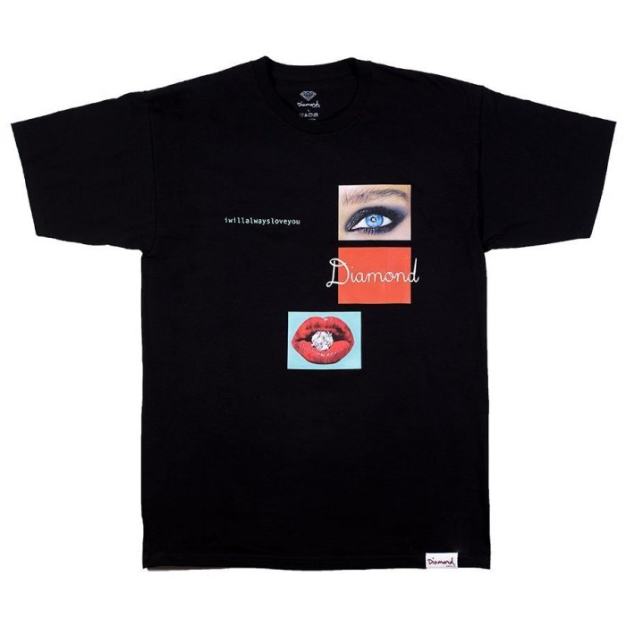 DIAMOND BLACK TEE EYE 1