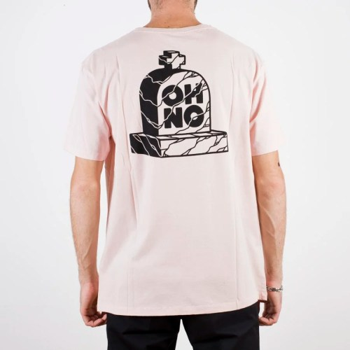 THE DUDES OH NO TEE PINK