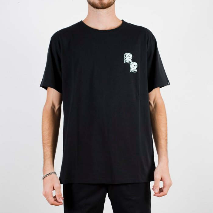 THE DUDES ROLL ROLL TEE BLACK