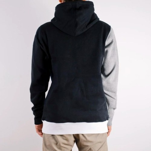 THE HUNDREDS BARTER PULLOVER HOODIE BLACK