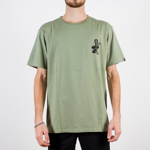 THE DUDES SNAKE TEE KHAKI