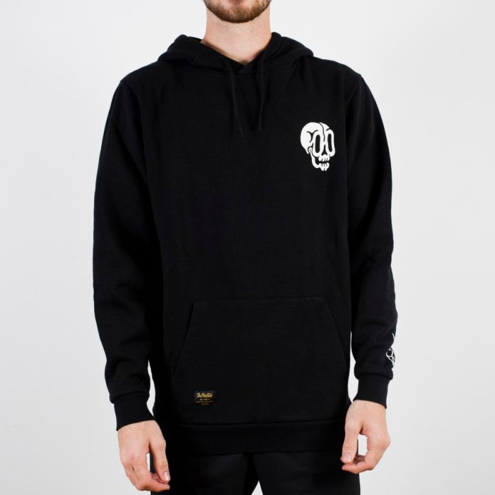 THE DUDES BRIGHT DAY HOODIE BLACK