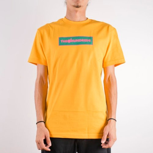 THE HUNDREDS CORNERS TEE GOLD
