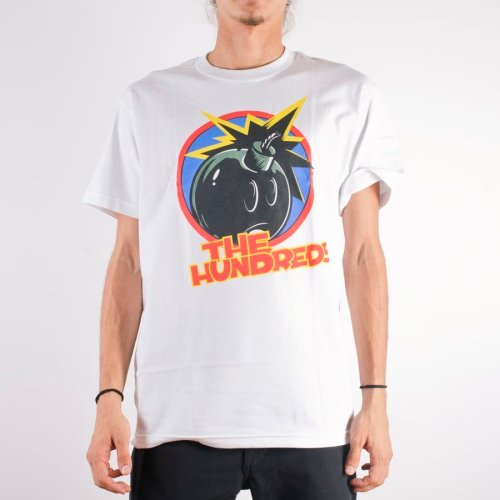 THE HUNDREDS HIDDEN ADAM TEE WHITE