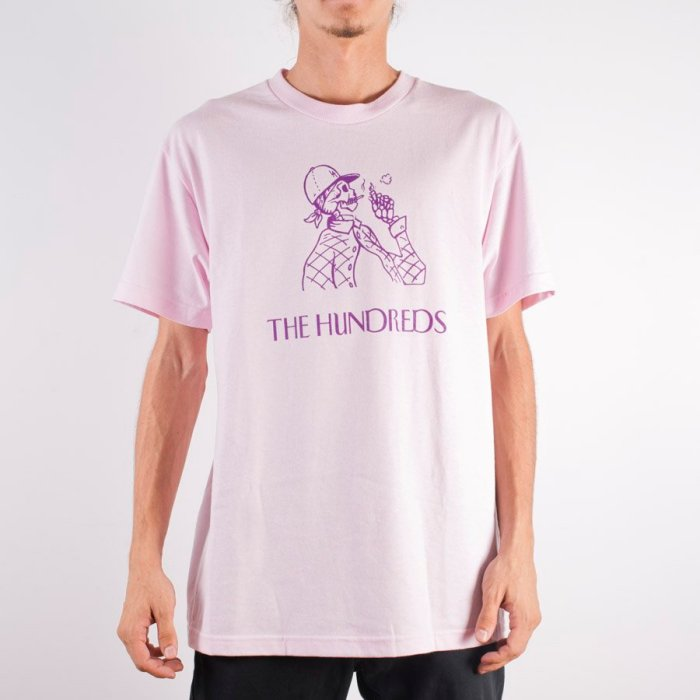 THE HUNDREDS ANGELENO TEE PINK