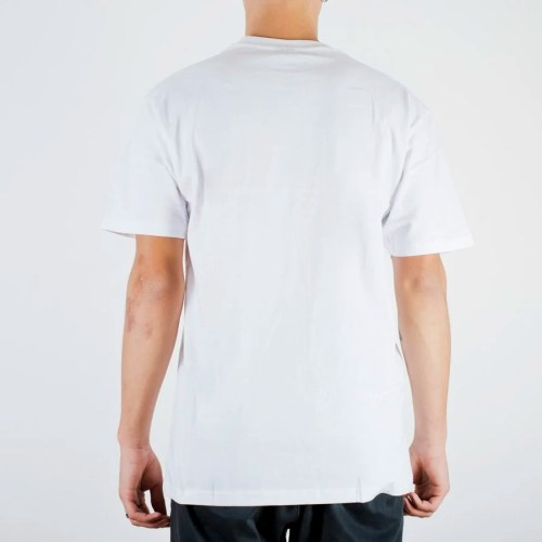 INDEPENDENT FTR SCRIPT TEE WHITE