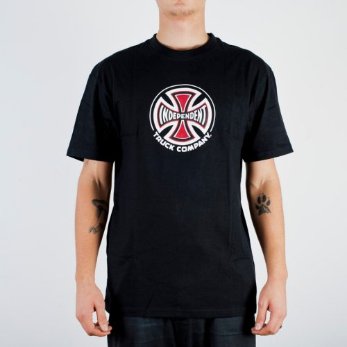 INDEPENDENT TRUCK CO. TEE BLACK
