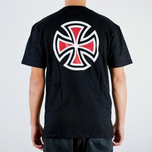 INDEPENDENT BAR CROSS TEE BLACK