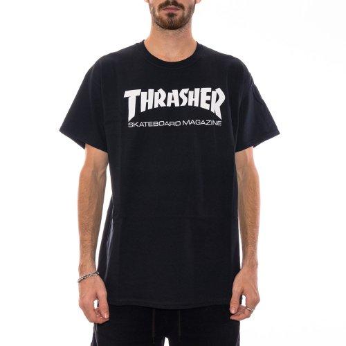 THRASHER SKATE MAG TEE BLACK
