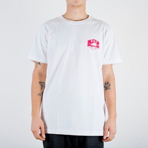 MOC GAS STATION TEE WHITE