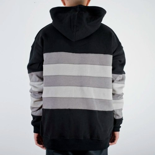 THE HUNDREDS PASSONS-2 PULLOVER HOODIE BLACK
