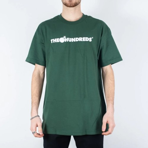 THE HUNDREDS BAR LOGO TEE FOREST