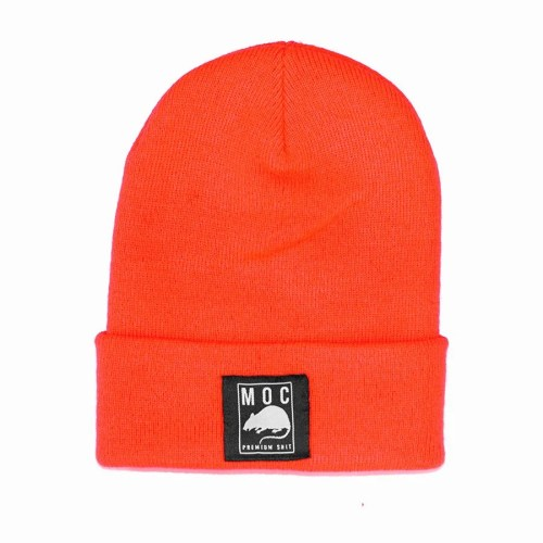 MOC LABEL 1 BEANIE LONG ORANGE