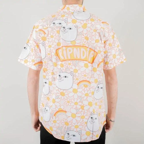 RIPNDIP DAISY DAZE BUTTON UP SHIRT MULTI (2)