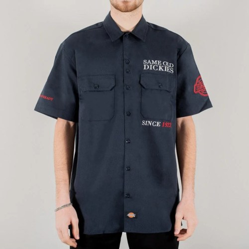 DICKIES LENOX SHIRT DARK NAVY
