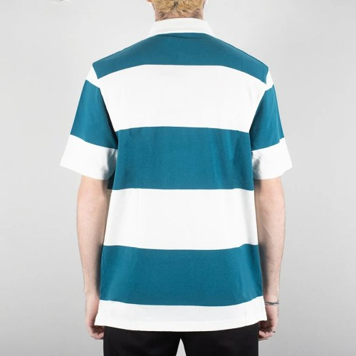 PARRA STRIPED GOAT POLO SS SHIRT MULTI (2)