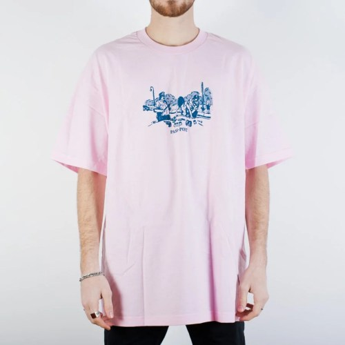 PASS~PORT FRISK DOWN TEE PINK