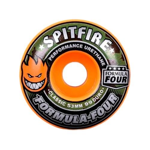 SPITFIRE FORMULA FOUR COVERT CLASSICS 99D ORANGE