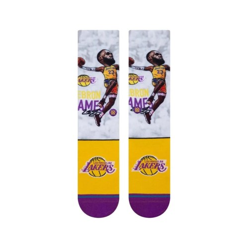 STANCE LBJ BIG HEAD CREW MULTI 2