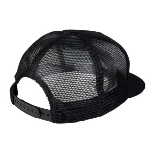 SANTA CRUZ CLASSIC DOT MESH CAP BLACK BLACK 2