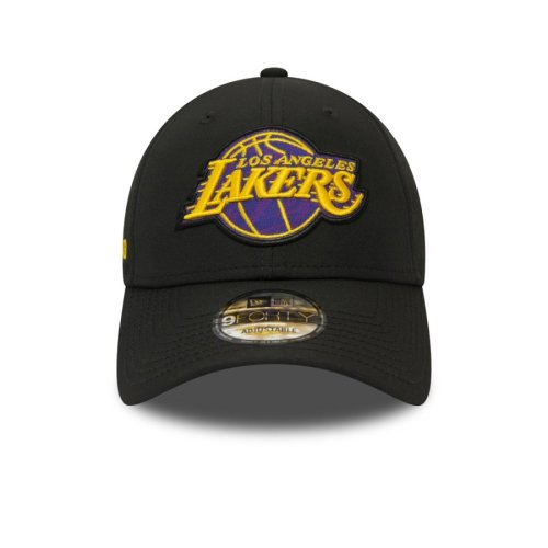 NEW ERA LOS ANGELES LAKERS HOOK 9FORTY CAP BLACK 2