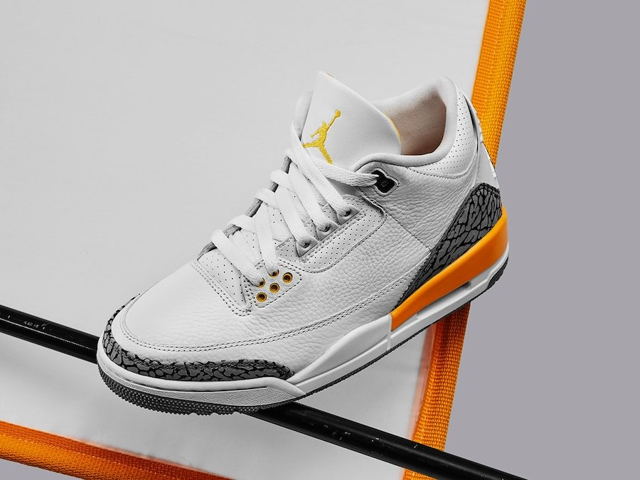 AIR JORDAN 3 RETRO LASER ORANGE