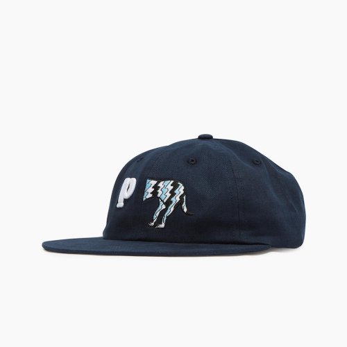 PARRA DOG TAIL P 6 PANEL HAT NAVY