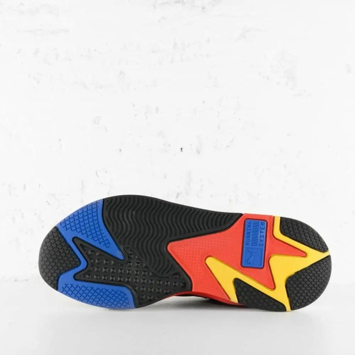 PUMA RS X3 MILLENIUM BLACK HI RISK RED LAPIS BLUE 3