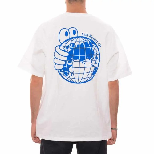 LAST RESORT AB WORLD TEE WHITE 1