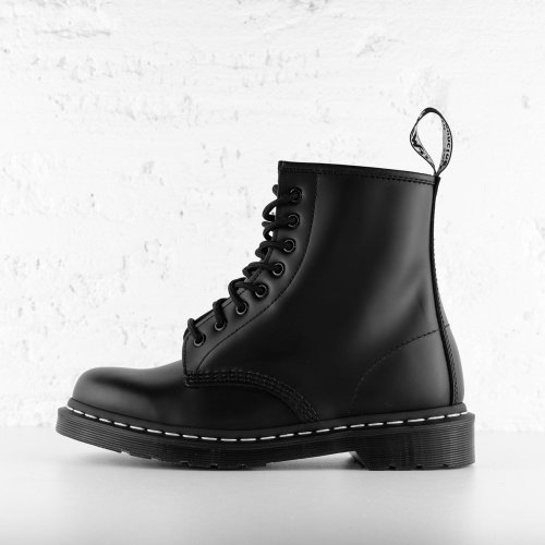 DR. MARTENS 1460 WS BLACK SMOOTH