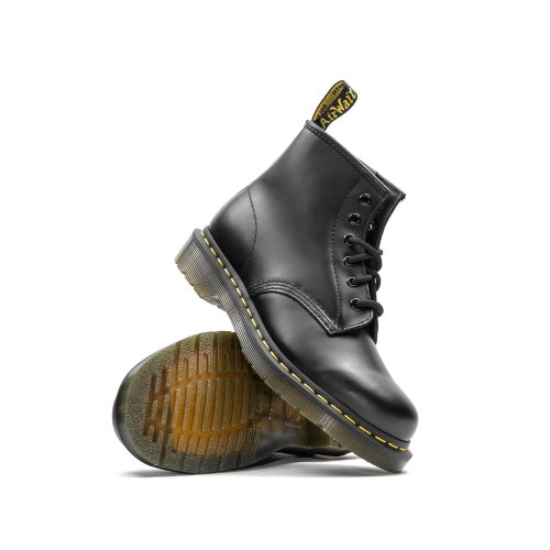 DR. MARTENS BEX 101 SMOOTH LEATHER BLACK SMOOTH 2