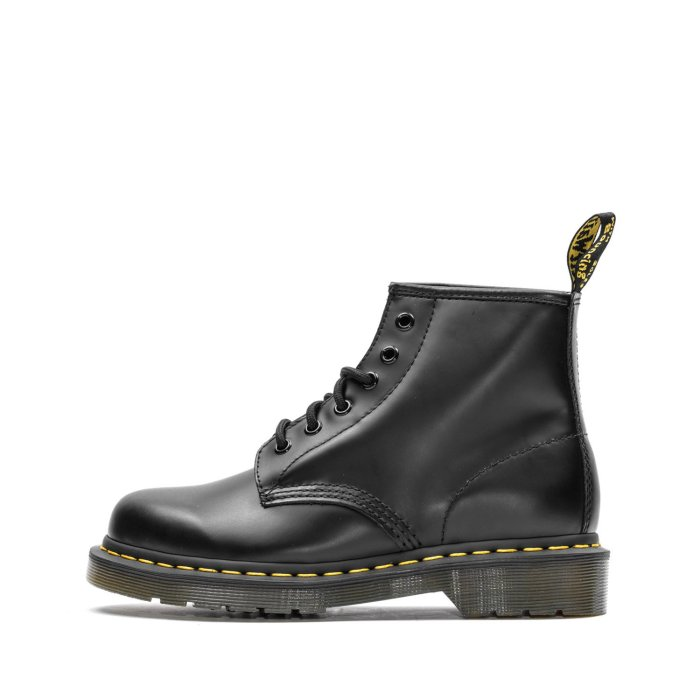 DR. MARTENS BEX 101 SMOOTH LEATHER BLACK SMOOTH