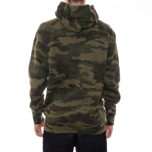 THRASHER FLAME HOODIE FOREST CAMO 2