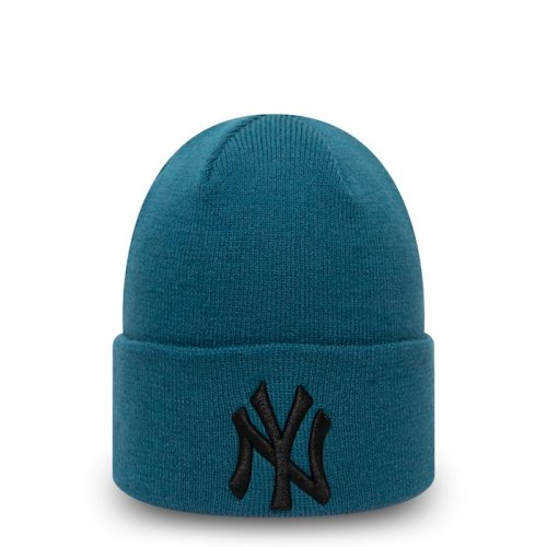 NEW ERA LEAGUE ESSENTIAL CUFF BEANIE ROYAL BLACK