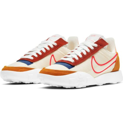 NIKE WMNS WAFFLE RACER 2X ORANGE MONARCH SIREN RED 2
